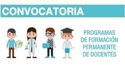 Convocatoria formaci n permanente de docentes for Convocatoria para docentes